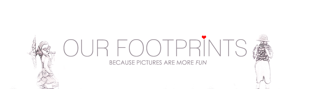 Our Footprints…..